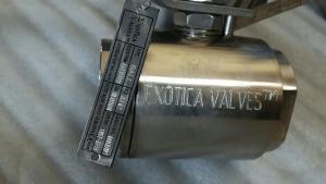 A20 Alloy 20 ball valve Exotica Valves