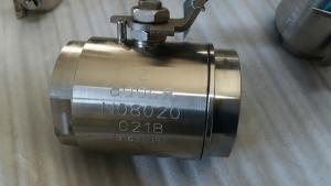 A20 ball valve soft seated