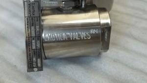 Exotica Valves alloy ball valve