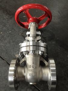 Gate valve 2inch Al-6XN UNS N08367 body and trim