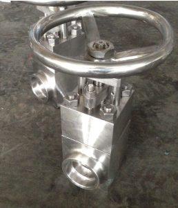 Gate valve Al-6XN body and trim