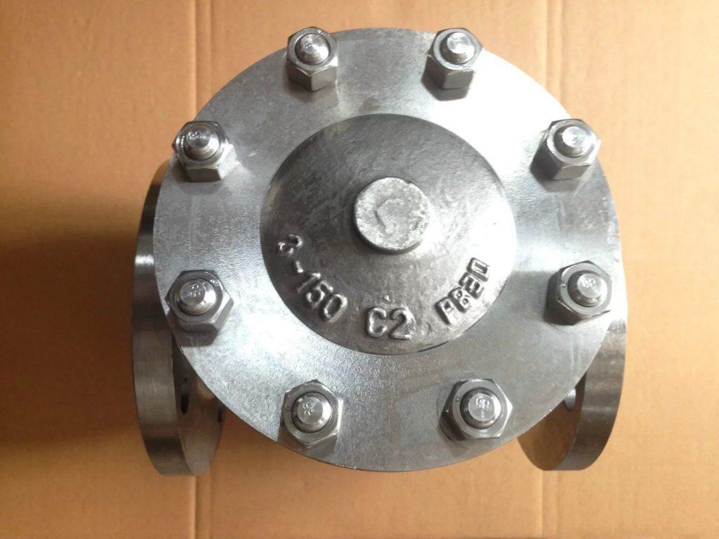 Swing check valve Titanium B381 Gr 2 top